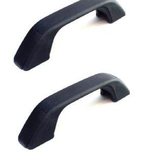 Black Plastic Grab Handle PAIR