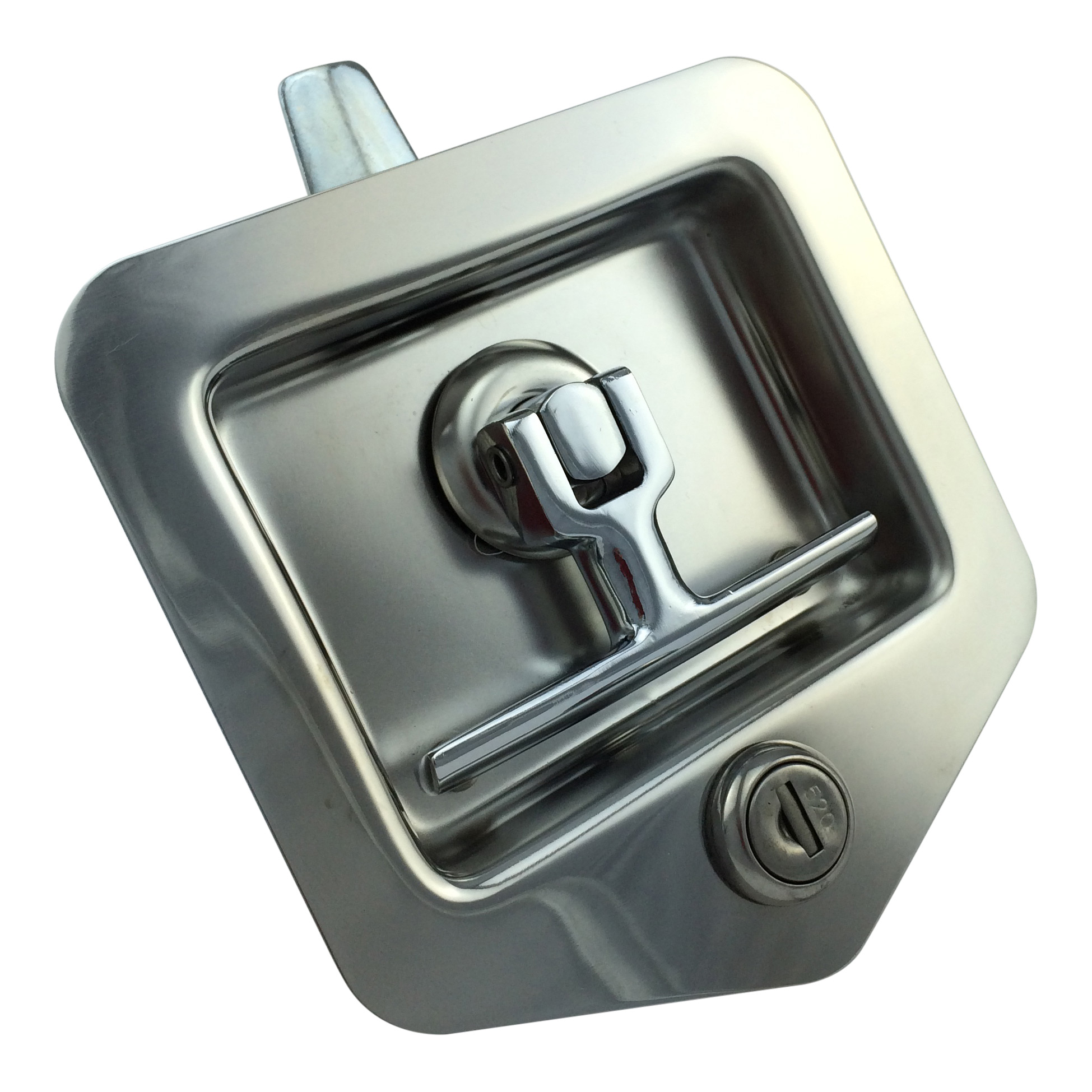 Folding T Lock Stud Fix Transport Hardware